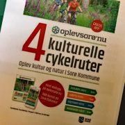 Fire kulturelle cykelruter