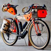 Bikepacking på mål