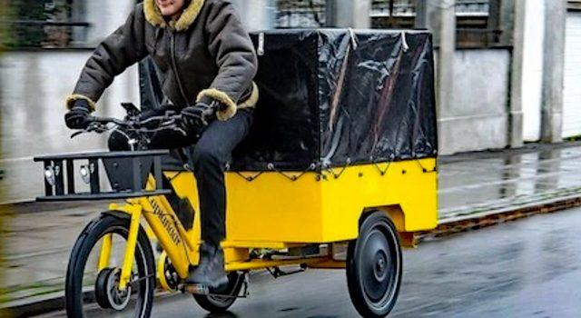 Dansk ladcykel vil udfordre traditionelle varebiler