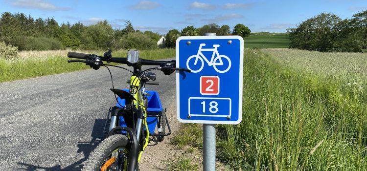 National cykelrute er blevet omlagt gennem Randers Kommune