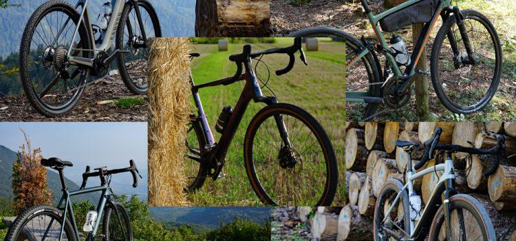 TEST: 5 + 1 gravel cykler