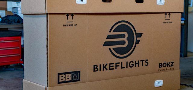Genanvendelig cykeltransportkasse fra BikeFlights