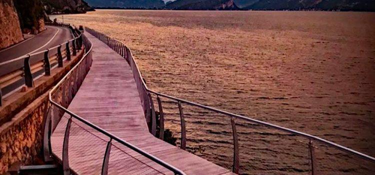 Gardasøen rundt på spektakulær ny cykelrute