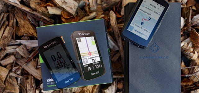 Test af to nye GPS cykelcomputere