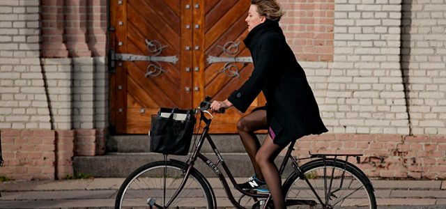 Woman In Cycling