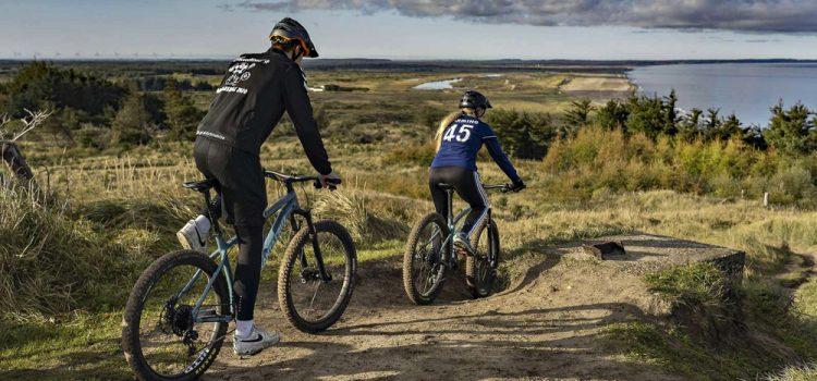 Rekreativt paradis for cykel- og vandreturister