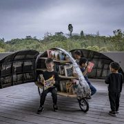Mobilt cykelbibliotek