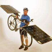 Første cykel der udelukkende drives af solen…