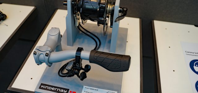 7 gears modulopbygget gearnav fra Kindernay vinder Eurobike Award
