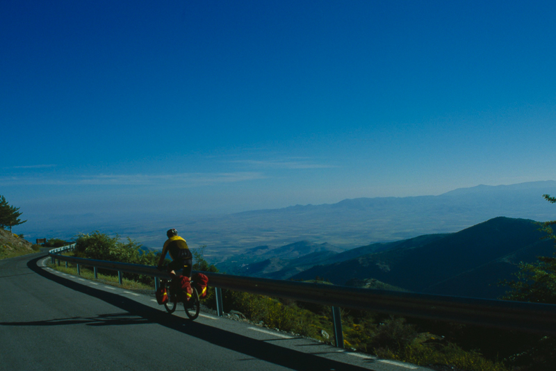 På cykeleventyr i Andalusien omkring Sierre Nevada