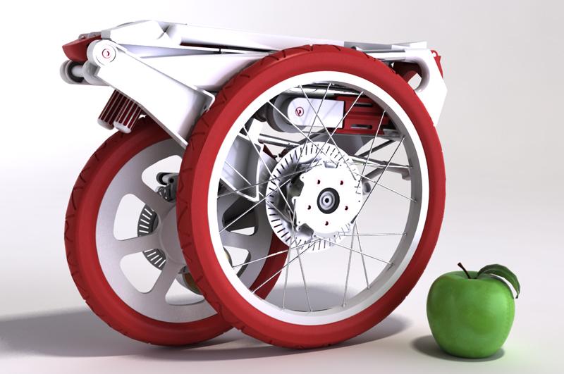 Bike Intermodal foldecykel vejer 7,5 kg