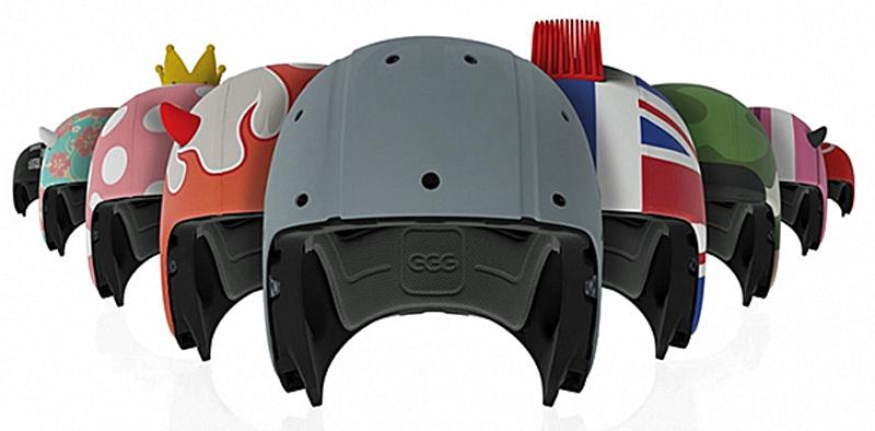Sjove børne hjelme fra EGG Helmets