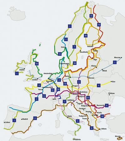 Eurovelo Cykelportalen