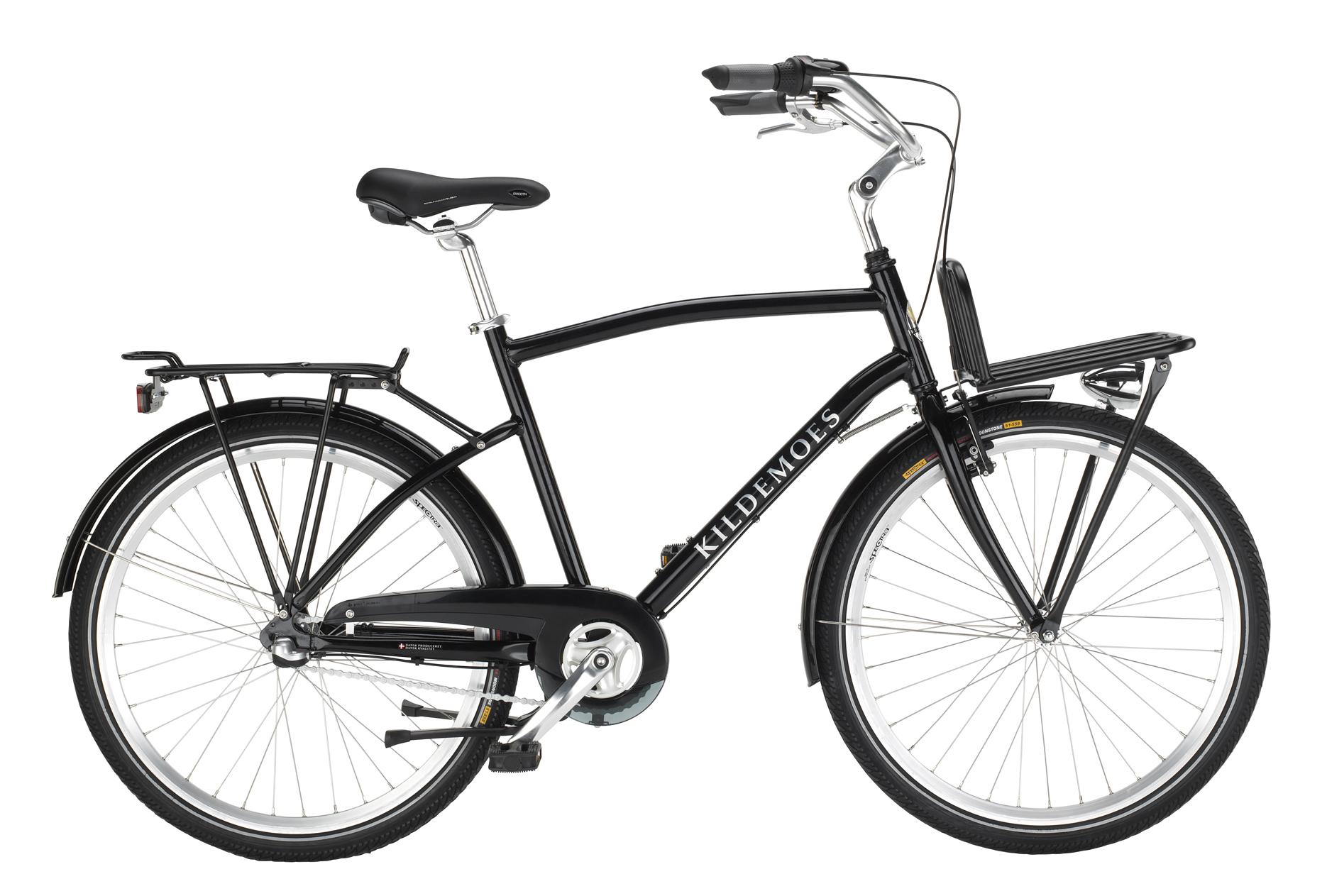 cykel med lad foran