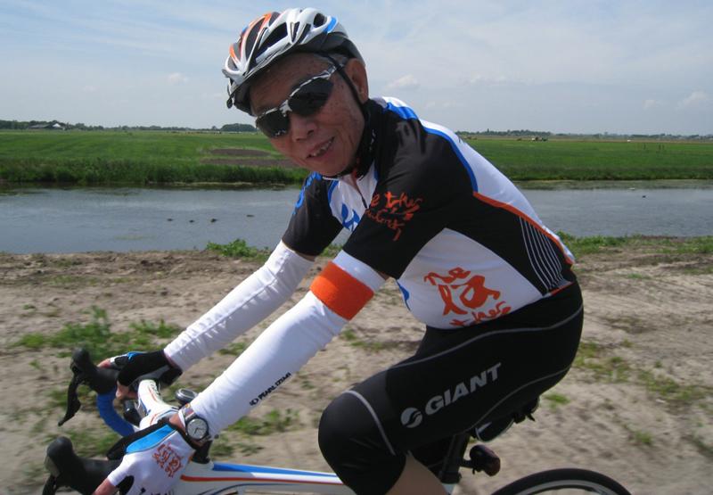 Giant grundlægger begynte at cykle som 73 årig