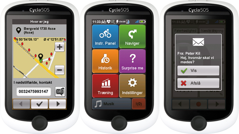 Software opdatering til Mio Cyclo computerne