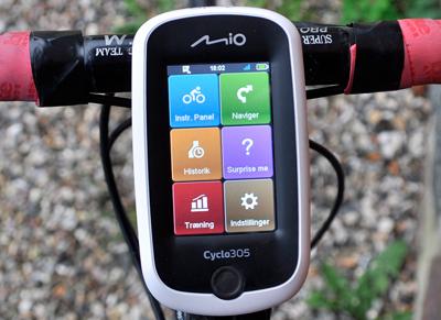 TEST: Mio Cyclo 305HR