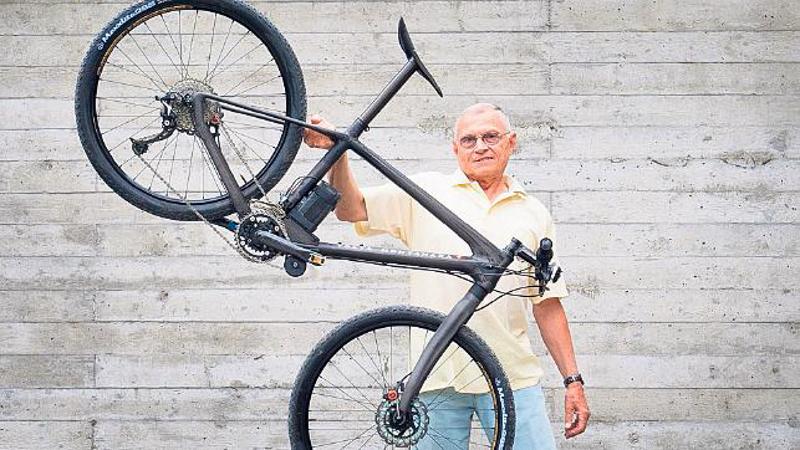 Verdens letteste elektriske mountainbike