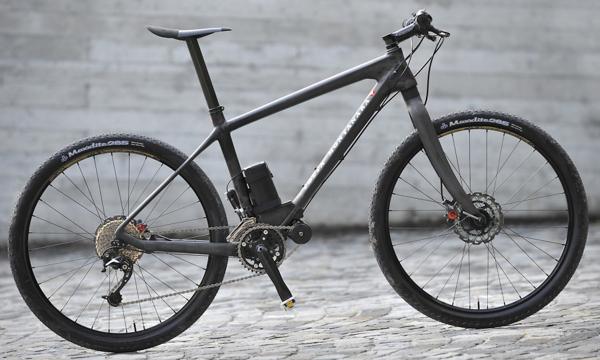 elektrisk mountainbike