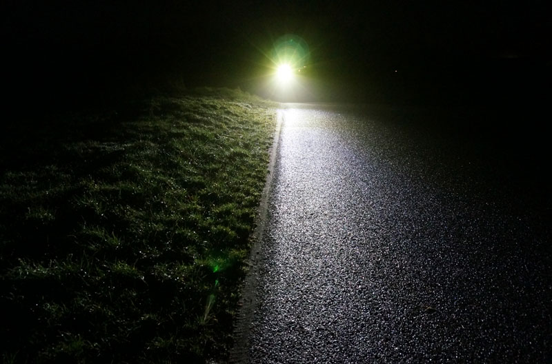 Vi tester Philips LED BikeLight AR 800DB