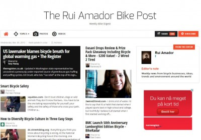 Rui Amador Bike Post