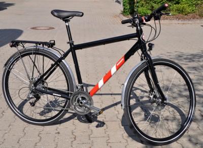 SRAM-Via-GT-cykel
