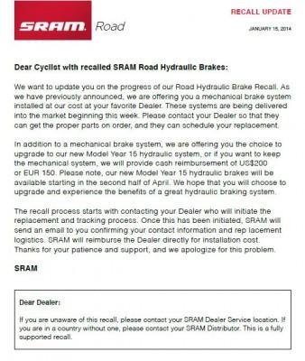SRAM letter