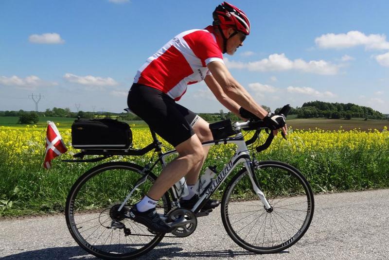 Ny odyssé med en cykel globetrotter