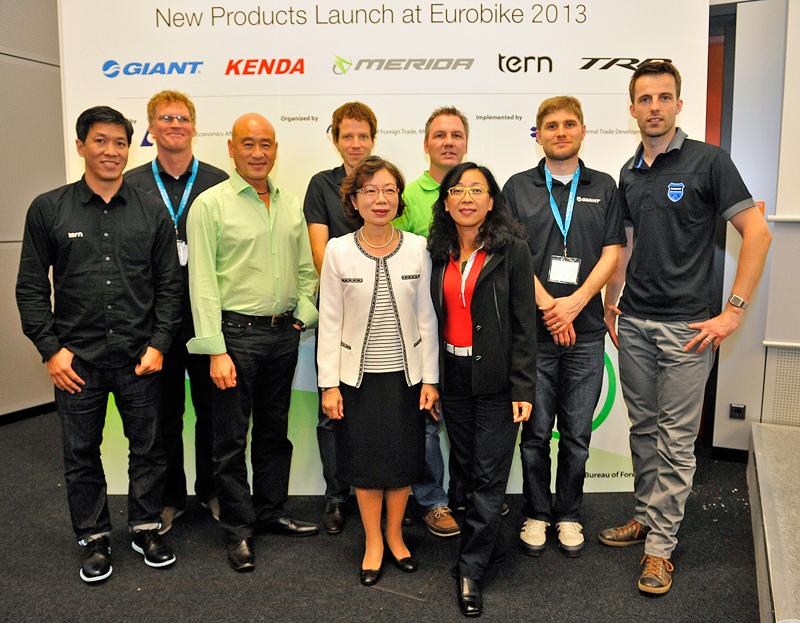 Taiwan præsentation på Eurobike