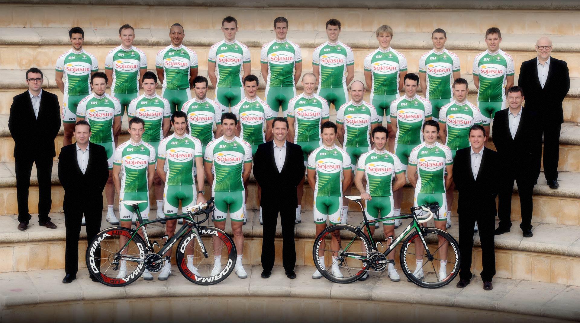 BH Bikes sponsorerer Team Soyasun i de næste to sæsoner.