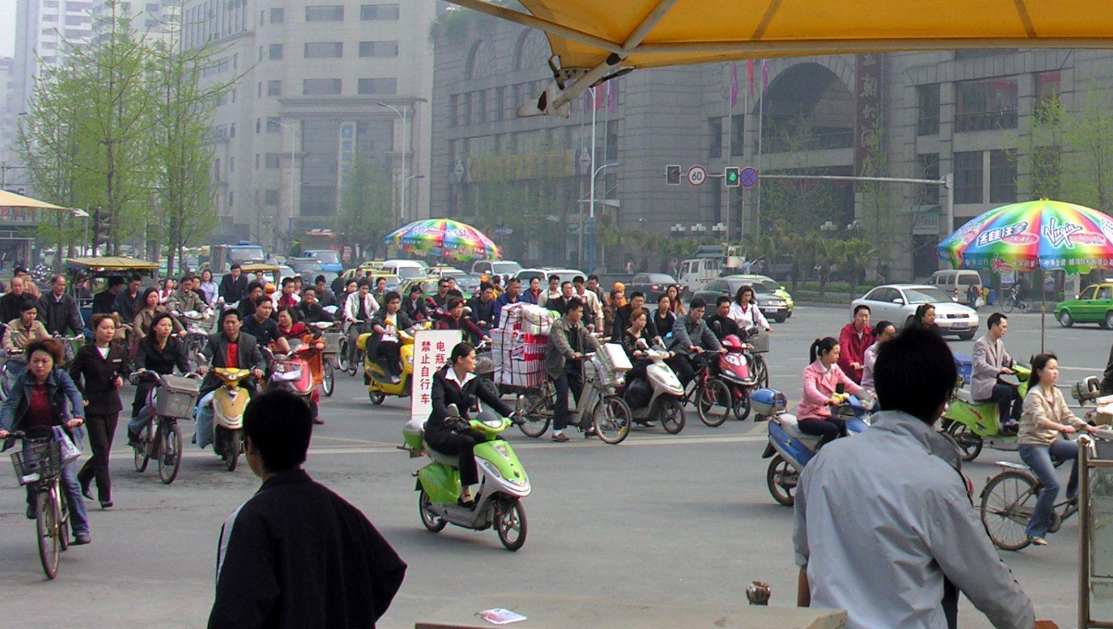 Cykler bliver det nye statussymbol for rige kinesere