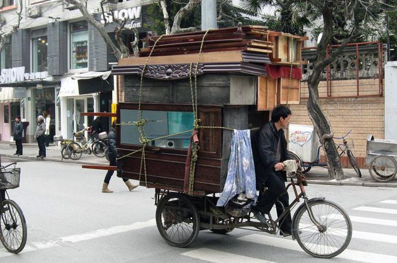 Transportcykler i Kina