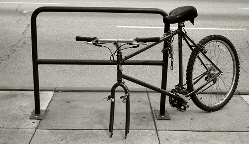 Cykeltyveri skal fremover anmeldes på nettet