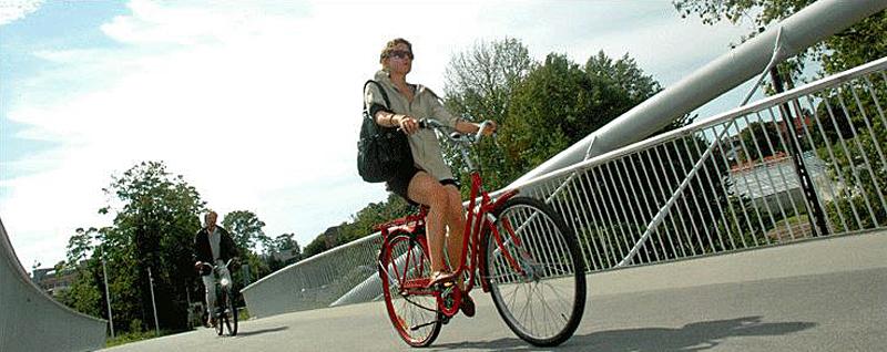 Årets Byplanpris går til cykelrute