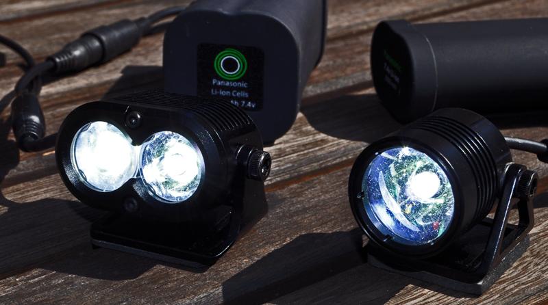 Test af let og kraftigt lys fra Gloworm