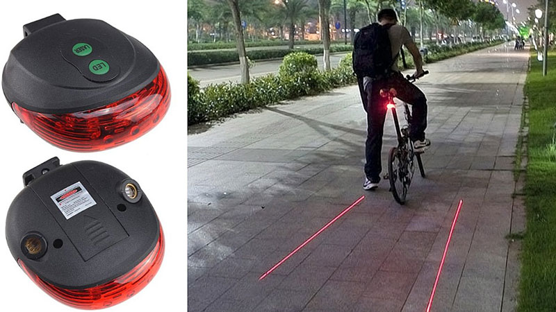 Laser Bike Light