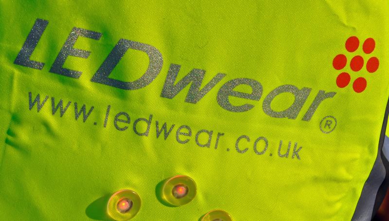 LedWEAR, test af cykeltøj med indbygget lys