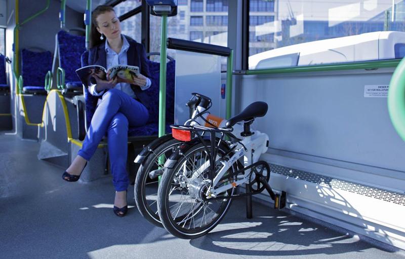 Foldecykler som en del af en ny transport infrastruktur