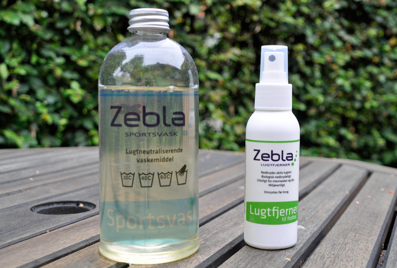 Test af Zepla sportsvask og lugtfjerner